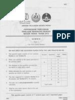 Science 2 (Perak's PMR Trial 2012)