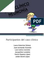 caso clínico neumonía