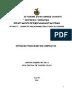 ESTUDO DE TENACIDADE EM COMPÓSITOS