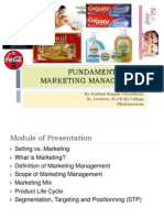 Fundamentals Marketing Management