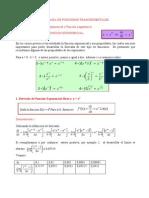 derivada funciones trasendentales