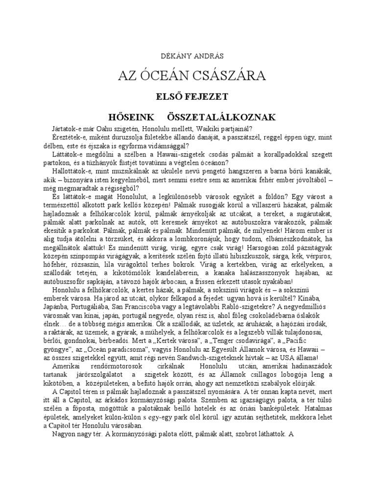 Dékány András  Az óceán császára 8f7582b844