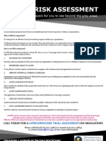 Fraud Risk Assessment (FRA) Leaflet