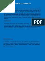 Didactica Descubreindo La Densidad