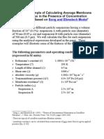 FluxCalculationSE Model