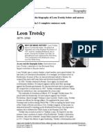 Leon Trotsky Biography