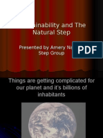 Sustainability and the Natural Step