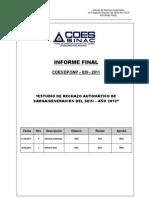 SNP-029-2011 Informe Final ERACG 2012