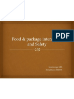 Food & Package Interaction and Safety 1