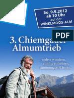 3. Chiemgauer Almumtrieb