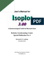 Isoplot3betaManual