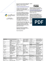 Python Quick Reference