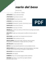 Diccionario Del Beso