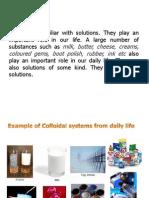 Colloidal System