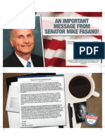 Senator Mike Fasano Endorses Stephen (Steve) Simon For Pasco County Republican State Committeeman!