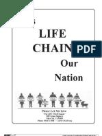 National Life Chain Manual (Prolife Propaganda)
