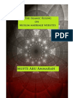 The Islamic Ruling on Muslim Marriage Websites