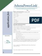 2011 Powerlink Application 2
