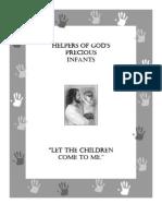 HGPI Indianapolis Manual Archdiocese (Prolife Propaganda Handbook)