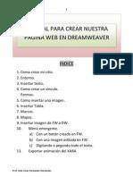 Manual Para Crear Nuestro Pagina Web Em Dreamweaver