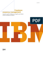 6054_Whitepaper_IBM VDSQ2_The Evolution of Businessresiliency Management