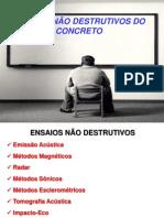 ENSAIOS NÃO DESTRUTIVOS DO CONCRETO