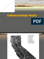 California Geologic History