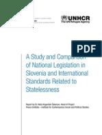 Slovenia Statelessness Study