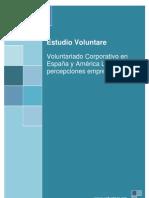 Voluntariado Corporativo en  España y América Latina