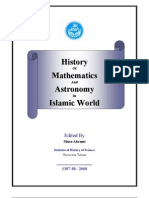 History of Mathematics and Astronomy in Islamic World