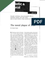 The Moral Plague of SAR (Sexual Attitude Restructuring) (Prolife RW Propaganda)