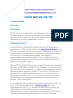 Cancer Ovarico El CA