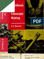 Howard HandbookForTelescopeMaking
