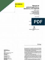 Manual de psicoterapia breve intensiva y de urgencia
