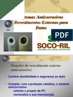 A) Sistemas Anticorrosivos Externos Para Dutos