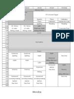 2012-2013 Schedule