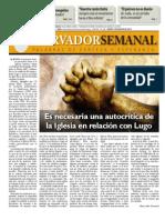 Observador Semanal del 02/08/2012