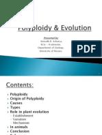 Polyploidy & Evolution