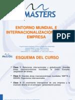 ENTORNO MUNDIAL E INTERNACIONALIZACIÓN