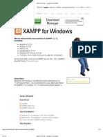 Xamp Installation