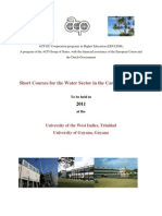UNESCO-IHE - Water Sector Short Courses (Caribbean)