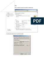 Configuracion servidores