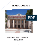 San Benito County 2004-05 Grand Jury, Final Report