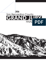 San Bernardino Grand Jury 2005-06 Final Report, 2006