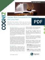 Volcker Rule Compliance