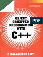 Balagurusami Objectoriented Programming cPP