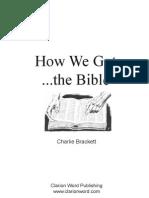 How We Got Bible