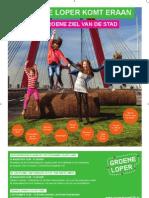 Groene Loper Poster