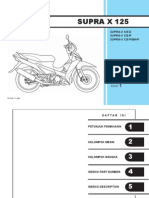 Indo Honda Supra X 125 Series Part Catalog