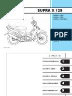 Indo Honda Supra X 125 Series Part Catalog